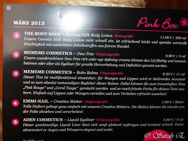 Riecht das gut ~ Pinkbox März (2/2)